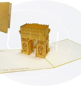 Pop up card, Arc de triomphe