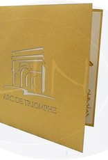 Pop Up 3D Karte, Glückwunschkarte, Reisegutschein, Arc De Triomphe, N179