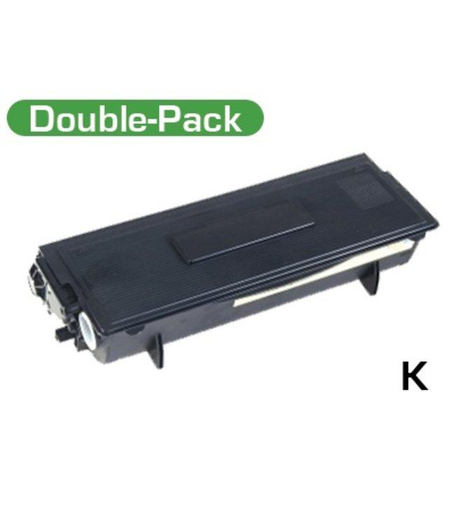 TonerWinkel Huismerk Brother (TN-3060) Dubbelpak Zwart (2x6700 afd.)