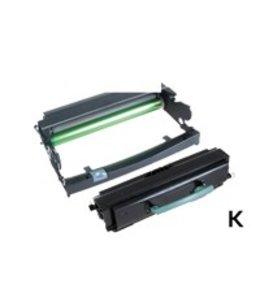 TonerWinkel Huismerk Lexmark (E460X11E/E260X22G) Toner en Drum unit. Zwart (15000/30000 afd.) E460TD
