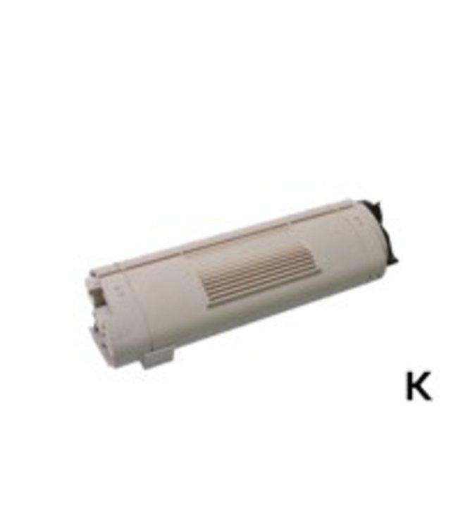 TonerWinkel Huismerk OKI C5650 BK (43865708) Toner Zwart (8000 afd.)