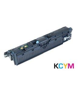 TonerWinkel Huismerk HP (122A) Voordeelset Kleur toner en drum COL3960A/61A/62A/63A/64A CLJ2550bundel