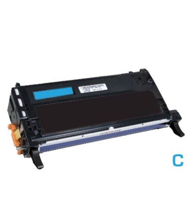 TonerWinkel Huismerk cyaan (Lexmark (X560H2CG) Toner cyaan (10000afd.)) Toner 10000 (X560H2CGafd.)
