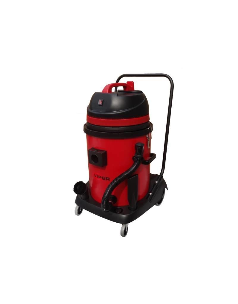 Viper Professionele stofwaterzuiger van 55 Liter.Met kunstof container Gratis Thuis Geleverd.  - Copy