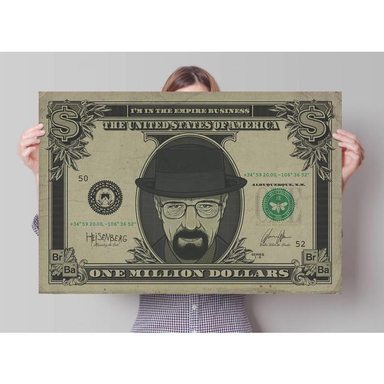 Breaking Bad Dollar - Poster 91.5 x 61 cm