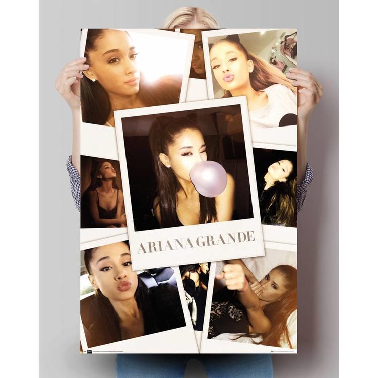 Ariana Grande - selfies in kleur  - Poster 61 x 91.5 cm
