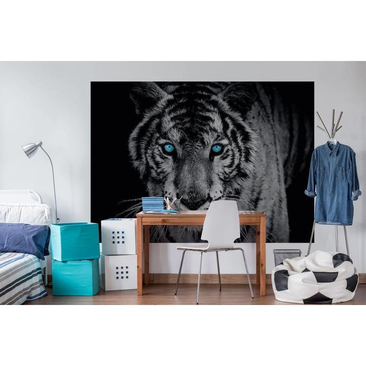 Tijger  - Fotobehang 254 x 184 cm