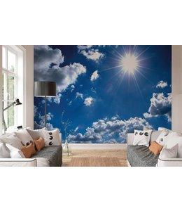 Fotobehang Blauwe lucht
