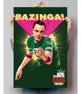 Poster The Big Bang Theory bazinga