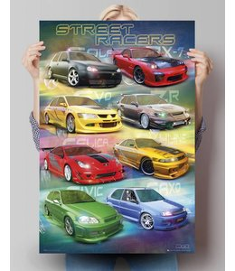Poster Street racers