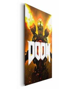 Schilderij Doom