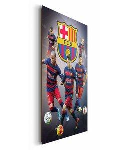 Schilderij FC Barcelona - sterspelers