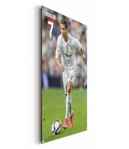 Schilderij Ronaldo Real Madrid