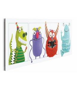 Schilderij Speelgoed monsters