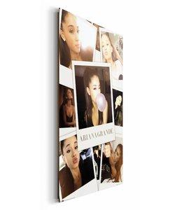 Schilderij Ariana Grande - selfies in kleur