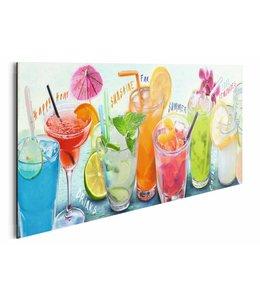 Schilderij Cocktails