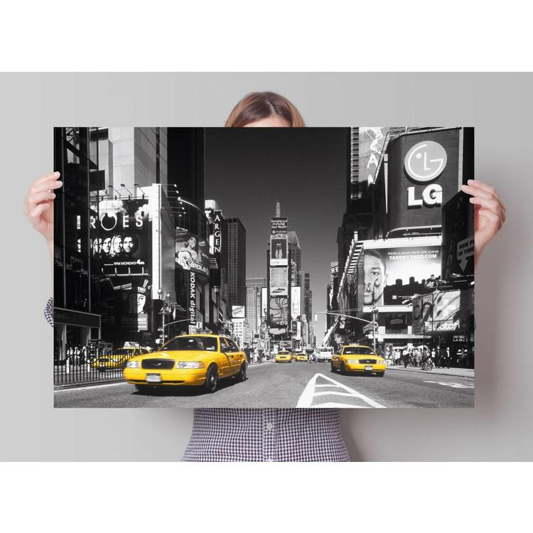 New York Taxis  - Poster 91.5 x 61 cm