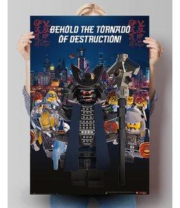Poster Lego Ninjago Garmadon
