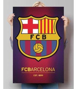 Poster FC Barcelona - Logo