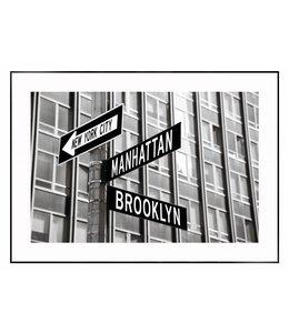 Schilderij Verkeersborden in New York