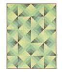 Schilderij Driehoeken patroon