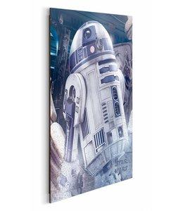 Schilderij Star Wars R2D2