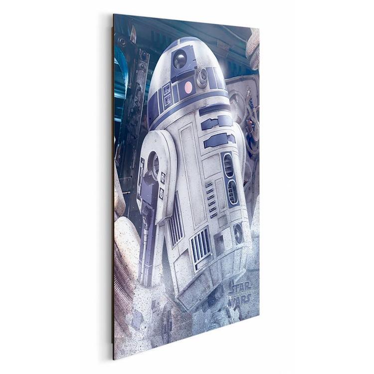 Star Wars R2D2 - Schilderij 40 x 50 cm