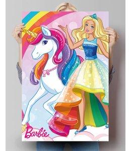 Poster Barbie Eenhoorn