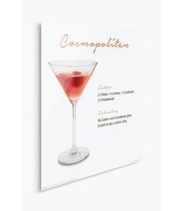 Schilderij Cocktail Cosmopolitan