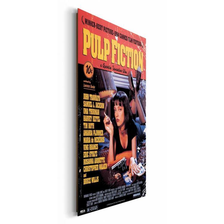 Pulp Fiction - Schilderij 60 x 90 cm