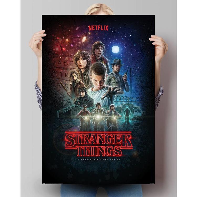 Stranger Things - one sheet - Poster 61 x 91.5 cm