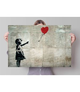 Poster Banksy Girl with Balloon