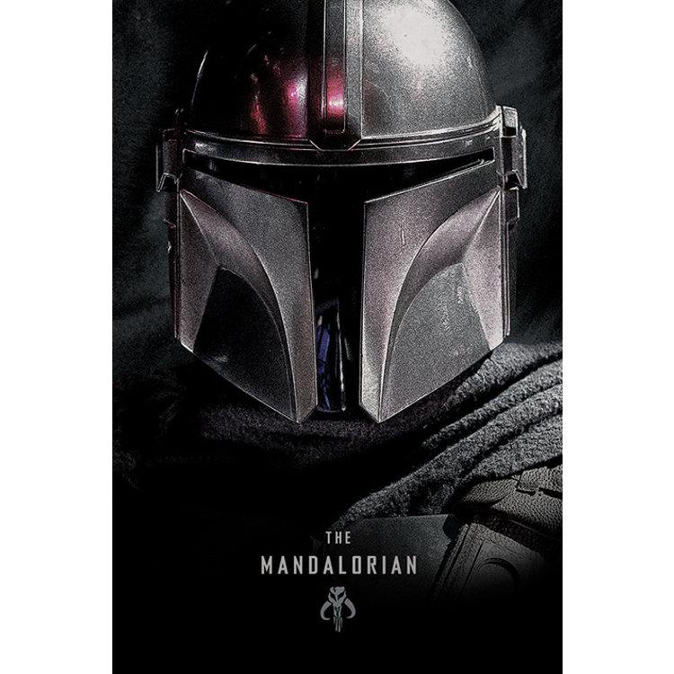 Star Wars The Mandalorian - Helm - Poster 61 x 91 cm
