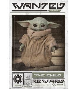 Poster Mandalorian Baby Yoda