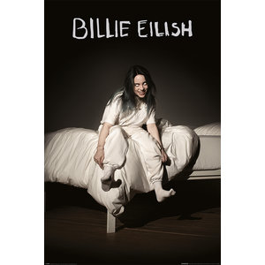 Poster Billie Eilish When We All Fall Asleep, Where Do We Go?