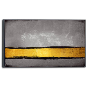Schilderij Gouden lijn