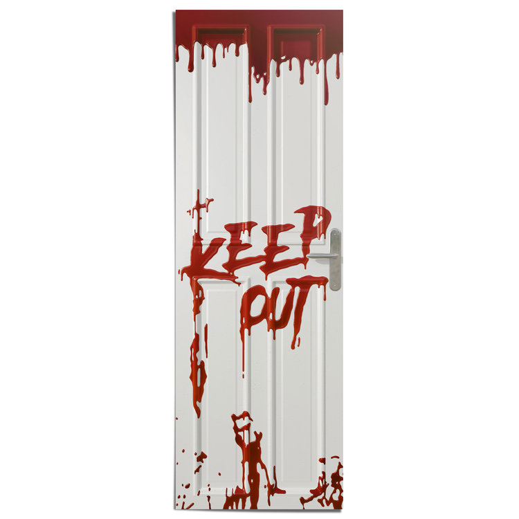 Keep Out - Deurposter Poster 53 x 158 cm