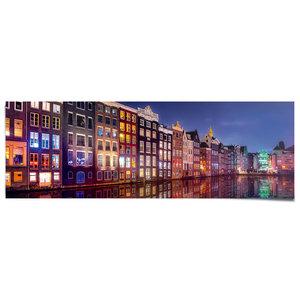 Poster Amsterdamse grachten