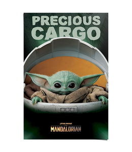 Poster The Mandalorian Baby Yoda