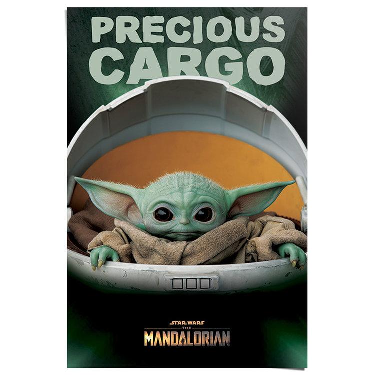 Star Wars - The Mandalorian Baby Yoda - Poster 61 x 91 cm