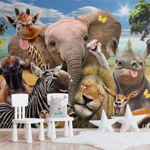 Fotobehang Wilde dieren