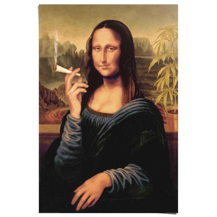 Mona Lisa joint  - Poster 61 x 91.5 cm
