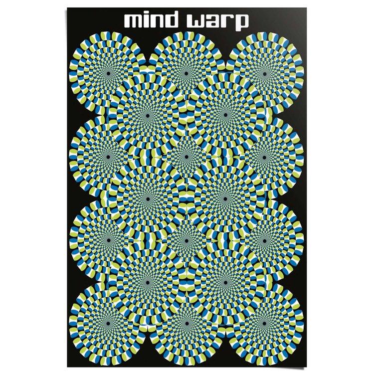 Mind Warp op art  - Poster 61 x 91.5 cm