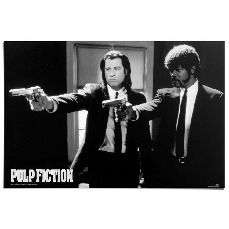 Pulp Fiction  - Poster 91.5 x 61 cm