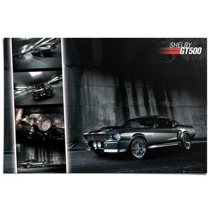 Poster Ford Mustang GT500