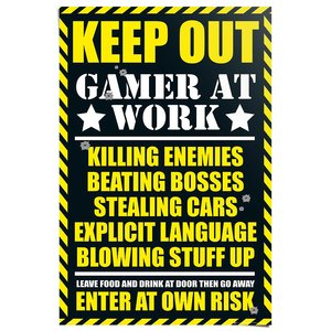 Poster Keep Out