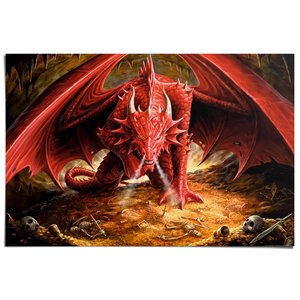 Poster Anne Stokes dragons lair