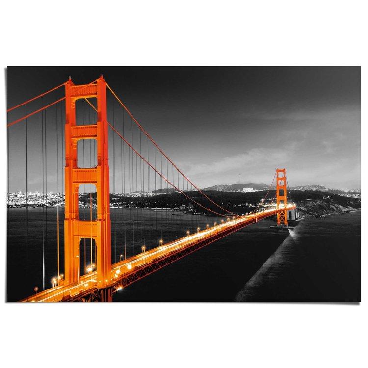 San Francisco  - Poster 91.5 x 61 cm