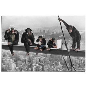 Poster Apen boven New York