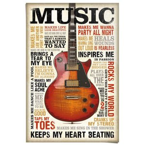 Poster Music is Passion
